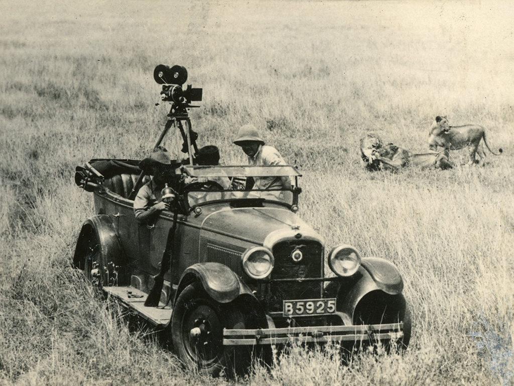 Paul Hoeffler first shoots colour film in Africa